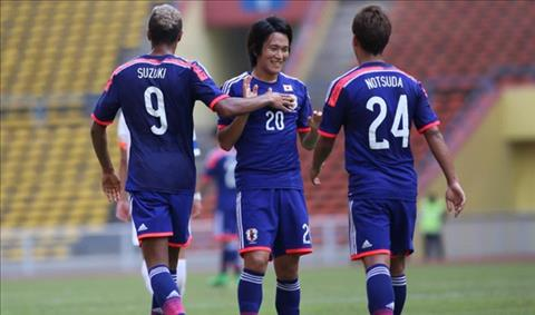 Olympic Nhật Bản từng để thua cả Indonesia, Philippines hình ảnh
