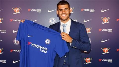 Khoac ao Chelsea, Morata lon tieng thach thuc Real va Barca hinh anh