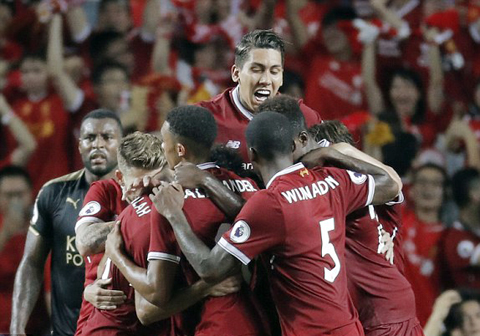Tong hop Leicester 1-2 Liverpool (Premier League Asia Trophy 2017) hinh anh
