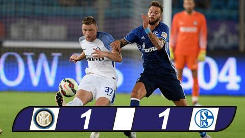 Tong hop Inter Milan 1-1 Schalke (Giao huu) hinh anh