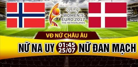 Nhan dinh Nu Na Uy vs Nu Dan Mach 01h45 ngay 257 (Euro 2017) hinh anh