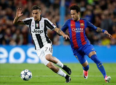 Dybala len tieng ve kha nang thay the Neymar o Barcelona hinh anh