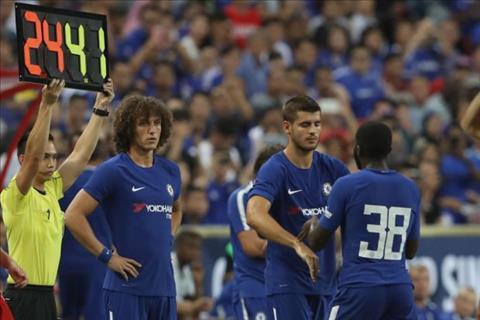 Conte noi gi ve man ra mat cua tien dao Alvaro Morata hinh anh