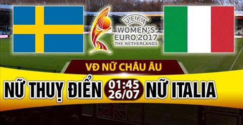 Nhan dinh Nu Thuy Dien vs Nu Italia 01h45 ngay 267 (Euro 2017) hinh anh