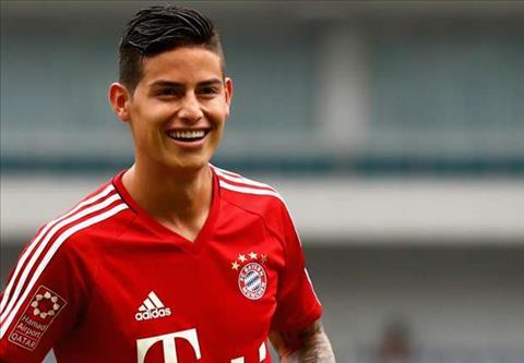 Tien ve James Rodriguez so sanh giua Bayern va Real hinh anh 2
