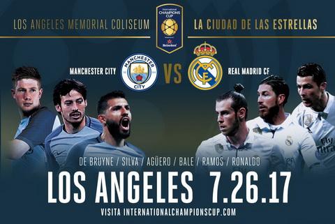 Man City vs Real Madrid tai ICC 2017 van chi la tran dau mang tinh chat thu nghiem.