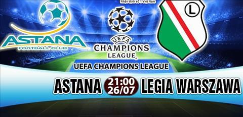 Nhan dinh Astana vs Legia Warszawa 21h00 ngay 267 (So loai Champions League) hinh anh