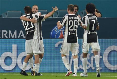 Tong hop PSG 2-3 Juventus (ICC 2017) hinh anh