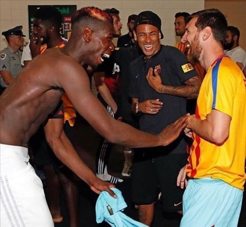 Pogba, Neymar va Messi trong phong thay do
