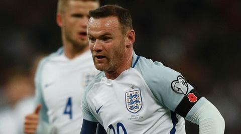 Wayne Rooney lai co co hoi khoac ao DT Anh.