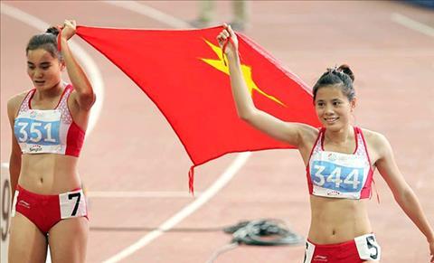 Dien kinh Viet Nam san vang SEA Games 29 Trong cho vao nu gioi hinh anh 2