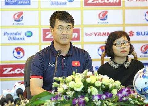 HLV Huu Thang khong dam da doi cong voi U22 Han Quoc hinh anh