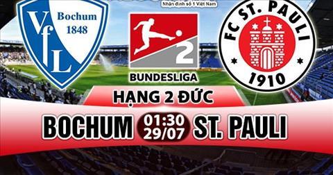 Nhan dinh Bochum vs StPauli 01h30 ngay 297 (Hang 2 Duc 201718) hinh anh
