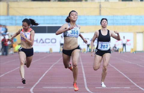 Dien kinh Viet Nam san vang SEA Games 29 Trong cho vao nu gioi hinh anh 3