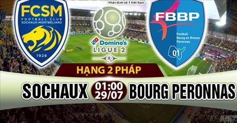 Nhan dinh Sochaux vs Bourg 01h00 ngay 297 (Hang 2 Phap 201718) hinh anh