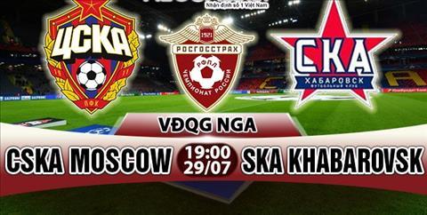 Nhan dinh CSKA Moscow vs SKA Khabarovsk 19h00 ngay 297 (VDQG Nga) hinh anh