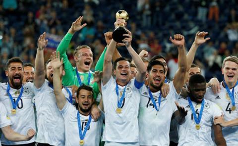 Danh hieu Confederations Cup la man chay da thanh cong cua Duc cho World Cup 2018. Anh: Reuters.