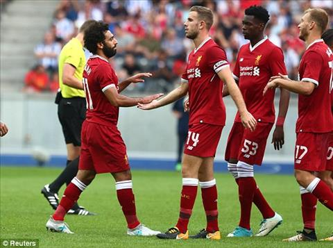 Tong hop Hertha Berlin 0-3 Liverpool (Giao huu he 2017) hinh anh