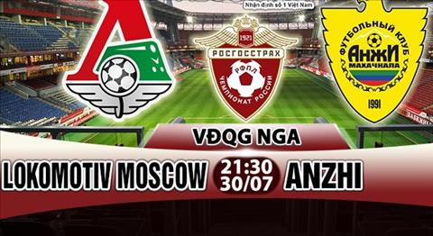 Nhan dinh Lokomotiv Moscow vs Anzhi 21h30 ngay 307 (VDQG Nga) hinh anh