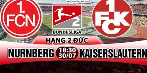 Nhan dinh Nurnberg vs Kaiserslautern 18h30 ngay 307 (Hang 2 Duc 201718) hinh anh
