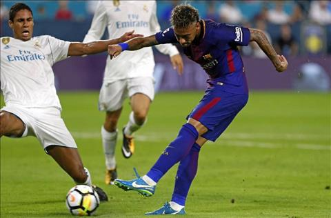 Real 2-3 Barca Khi doi chan cua Neymar cat tieng noi hinh anh 3