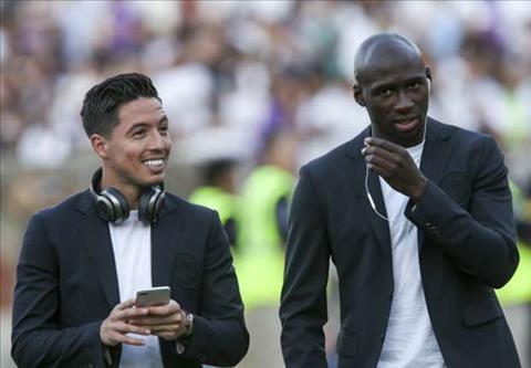 Pep Guardiola noi gi ve tuong lai tien ve Samir Nasri hinh anh