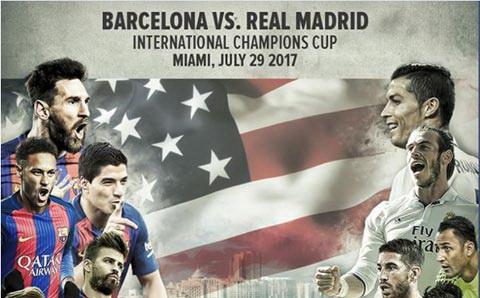 Real Madrid co man khoi dau mua giai tham hoa tai ICC 2017.