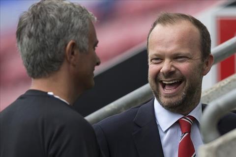 HLV Jose Mourinho noi ve moi quan he voi Ed Woodward hinh anh