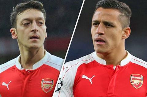 Tranh vet xe do Sanchez va Ozil, Arsenal tat ta giu chan tru cot hinh anh