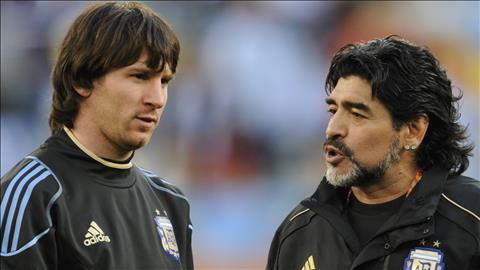 Maradona không ủng hộ Argentina vô địch World Cup 2018 vì sợ đen hình ảnh