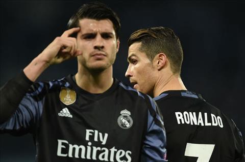 Alvaro Morata Con roi dang thuong trong cuoc chien MU vs Real hinh anh 2