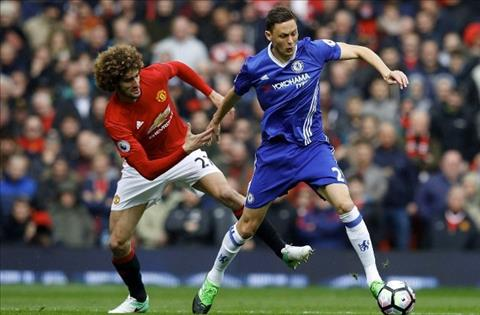 Matic tranh bong voi Fellaini
