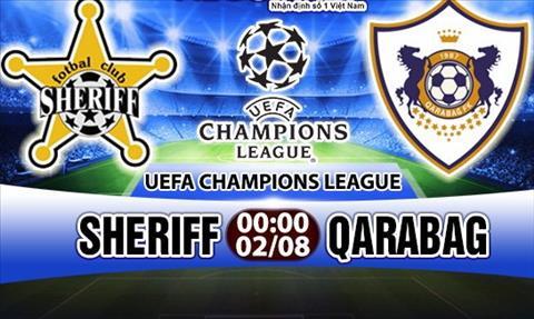Nhan dinh Sheriff vs Qarabag 0h00 ngay 28 (So loai Champions League) hinh anh