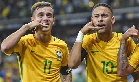 Ronaldinho tien cu Coutinho thay Neymar o Barca hinh anh