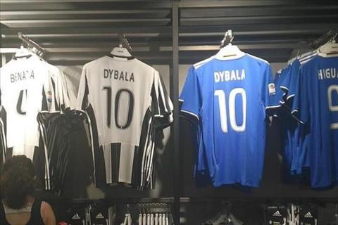 Paulo Dybala duoc trao so 10 tai Juventus