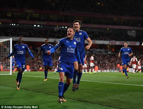 Tien dao Jamie Vardy tiet lo ly do tu choi Arsenal hinh anh