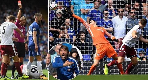 Chelsea la cu soc dau tien cua Premier League 2017-18.