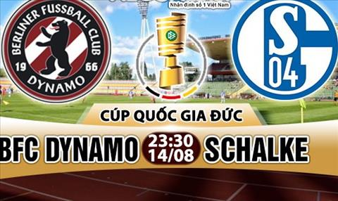 Nhan dinh BFC Dynamo vs Schalke 23h30 ngay 148 (Cup QG Duc 201718) hinh anh