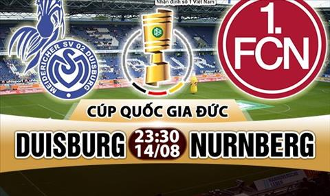 Nhan dinh Duisburg vs Nurnberg 23h30 ngay 148 (Cup QG Duc 201718) hinh anh