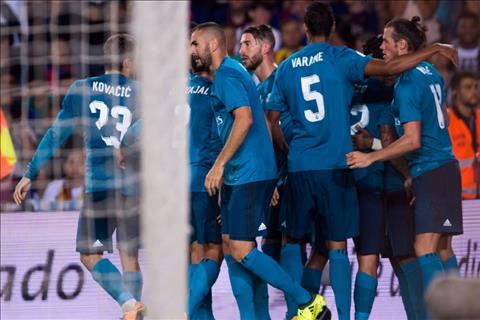 Tong hop Barca 1-3 Real Madrid (Luot di Sieu cup TBN 2017) hinh anh