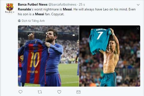 Messi thuc su luon la noi am anh khon nguoi voi Ronaldo hinh anh