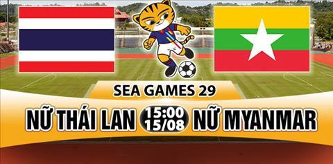 Nhan dinh Nu Thai Lan vs Nu Myanmar 15h00 ngay 158 (Sea Games 29) hinh anh