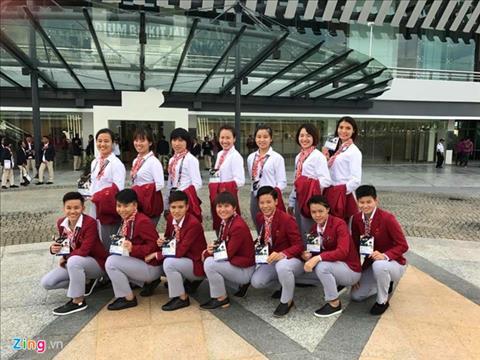 Doi Futsal nu quyet tam lat do Thai Lan o SEA Games 29 hinh anh