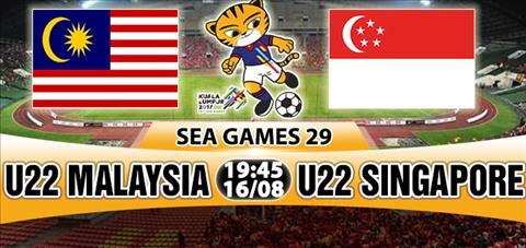 Nhan dinh U22 Malaysia vs U22 Singapore 19h45 ngay 168 (Sea Games 29) hinh anh