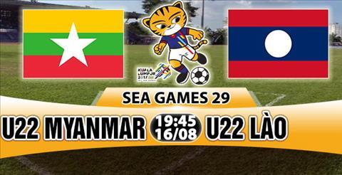 Nhan dinh U22 Myanmar vs U22 Lao 19h45 ngay 168 (Sea Games 29) hinh anh