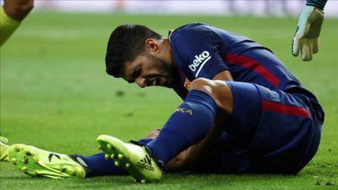 Barca nhan tin vui tu tien dao Luis Suarez hinh anh