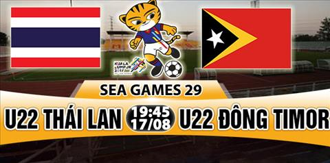 Nhan dinh U22 Thai Lan vs U22 Dong Timor 19h45 ngay 178 (Sea Games 29) hinh anh
