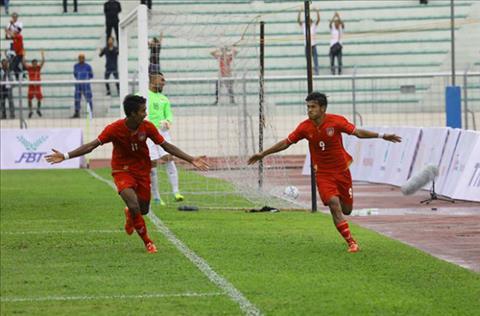 Tong hop: U22 Brunei 0-6 U22 Myanmar (Sea Games 29)