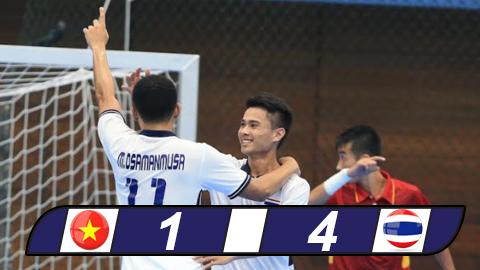 Futsal nam Viet Nam thua dam Thai Lan hinh anh