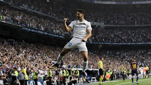 Marco Asensio khong dam coi nhe Barca.